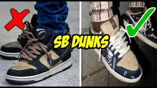 NIKE SB DUNKS - DO NOT BUY WITHOUT WATCHING!