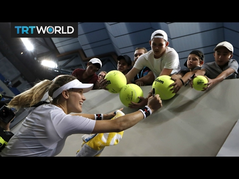 Interview with Wimbledon finalist Eugenie Bouchard