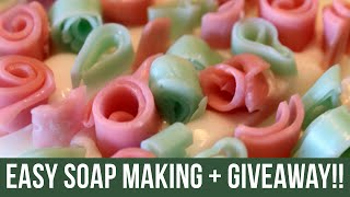 Easy Soap Making + GIVEAWAY!! | Royalty Soaps