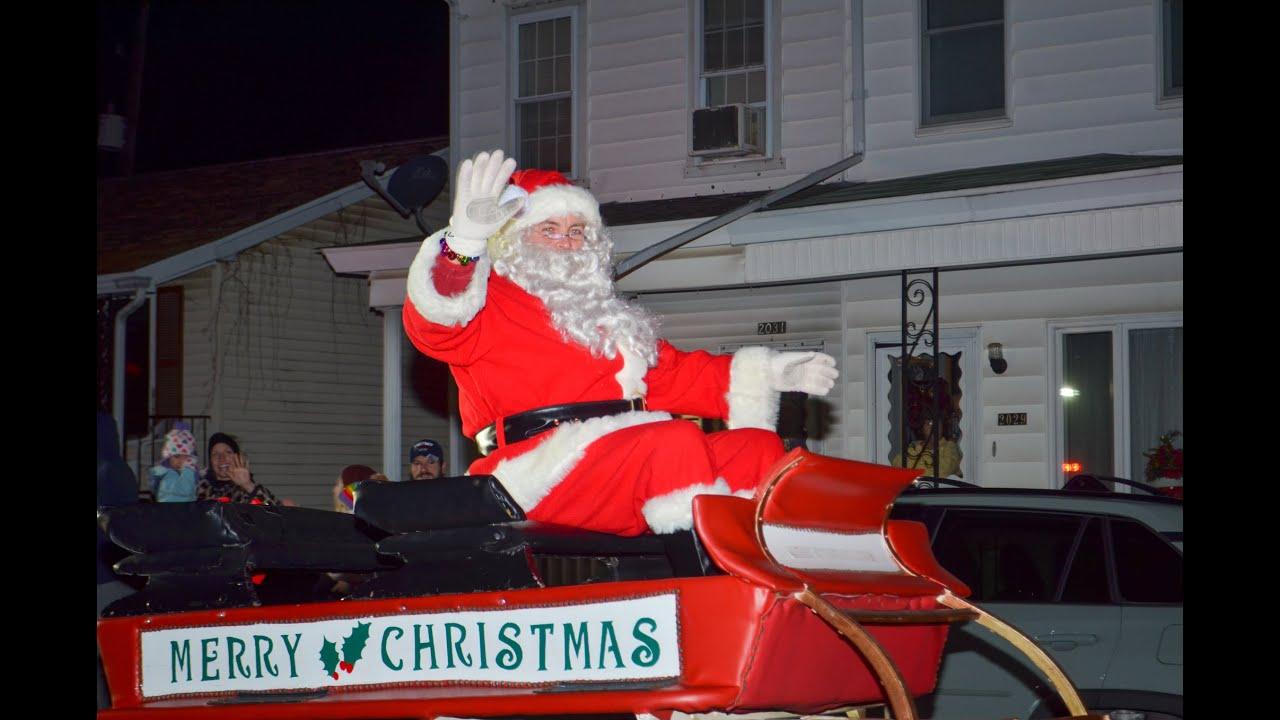 Ashland Christmas Parade 2021 Ashland Santa Parade And Christmas Tree Lighting 2020 Youtube