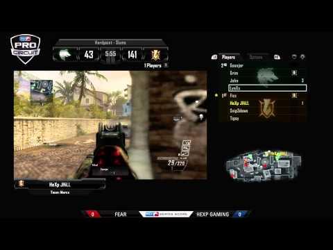 FeaR Vs HeXp Gaming - Game 1 - CWR1 - MLG Dallas 2013
