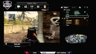 fear vs hexp gaming game 1 cwr1 mlg dallas 2013