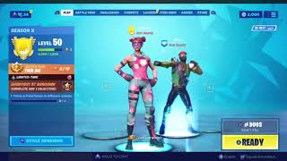 Fortnite - Season X New *LEAKED* Major Lazer Skin and Emote Showcase!