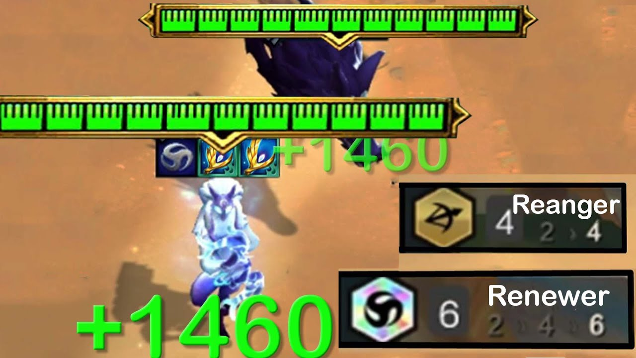 2,000+Heal/s & 15,000+HP! Shadow Archangel Kindred | 6 Renewer
