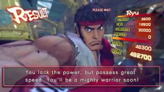 Ultra Street Fighter IV (Xbox 360) Arcade as Ryu