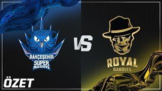 Bahçeşehir SuperMassive ( SUP ) vs Royal Bandits ( RB ) Maç Özeti | 2018 Yaz Mevsimi 5. Hafta