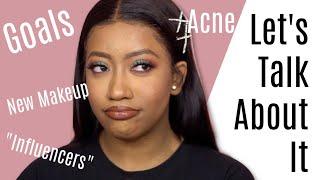 Let's talk about it | $1 Foundation, Acne , New Makeup , Goals