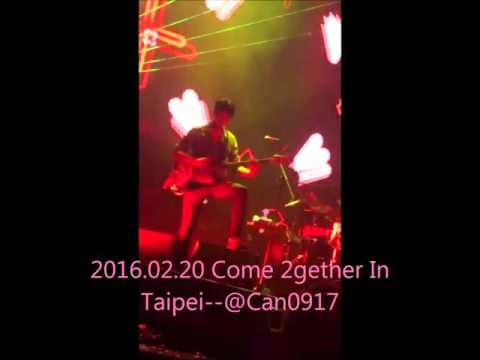 2016.02.20 CNBLUE Come Together In Taipei  Catch Me +Cinderella+Radio 正信 Focus
