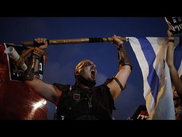 <span class='as_h2'><a href='https://webtv.eklogika.gr/israil-chiliades-se-diadilosi-kata-tis-kyvernisis' target='_blank' title='Ισραήλ: Χιλιάδες σε διαδήλωση κατά της κυβέρνησης'>Ισραήλ: Χιλιάδες σε διαδήλωση κατά της κυβέρνησης</a></span>
