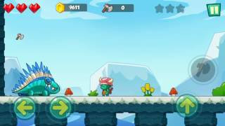 Jungle Adventures: Super World - Ice Field Level 16 (Boss Fight) Gameplay (Free Game On Android)