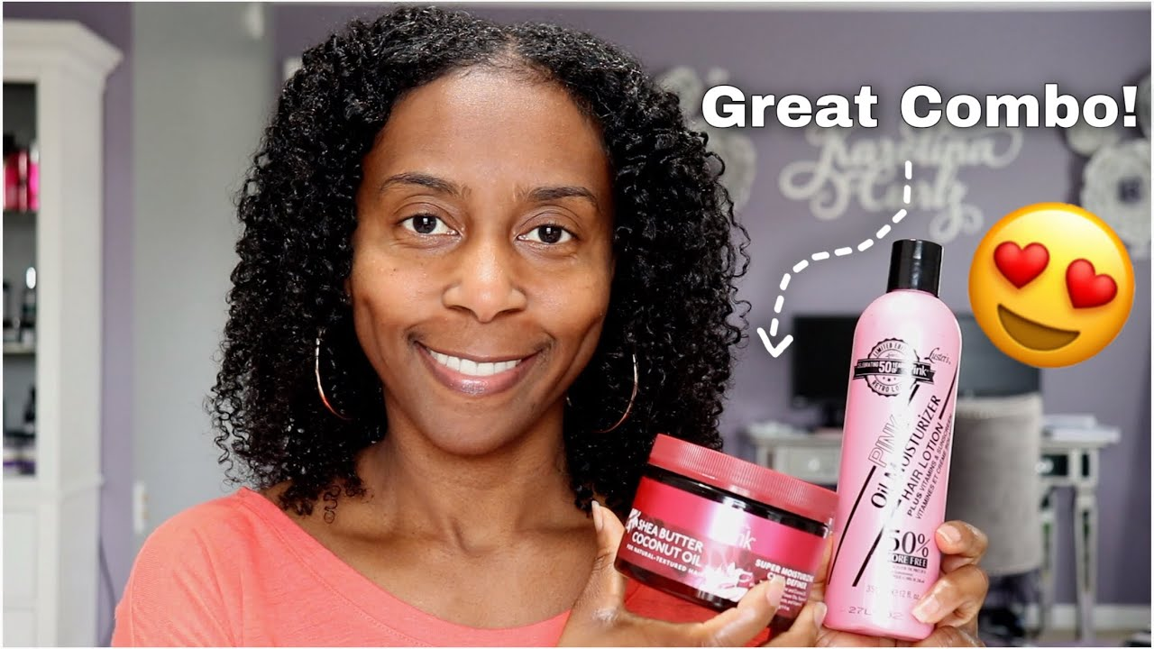 I Did A TWAIDOUT ft. Luster's Pink Oil Moisturizer and Shea Butter & Coconut Oil Curl Definer!