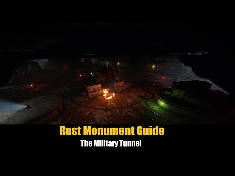 Rust Monument Guide - The Military Tunnel