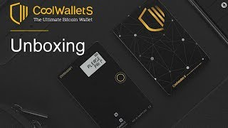 CoolWallet S Unboxing - The Ultra Slim Crypto Hardware Wallet