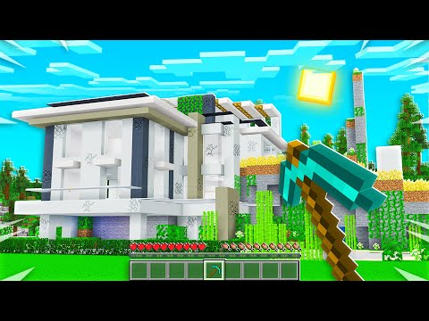 MINECRAFT But This House Teleports...