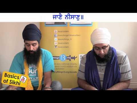 Japji Sahib Santhia #1 - Mool Mantar & 5 Pauria