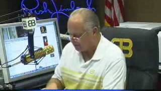 Part 1 Rush Limbaugh: Obama is Destroying the Economy