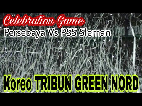 KEREN..!! Koreo N Full Chant Tribun Green Nord, Forza Green Force..!!