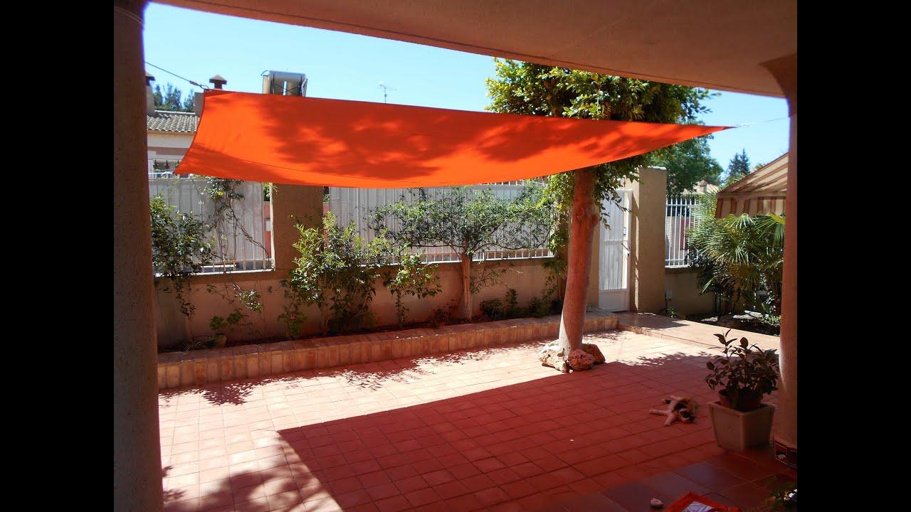 Toldos vela leroy merlin affordable toldos para terrazas - Toldos para patios exteriores ...