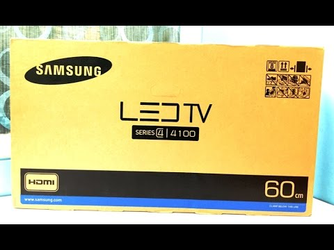 Samsung 24inch J4100 HD LED TV Unboxing And Overview (INDIA)