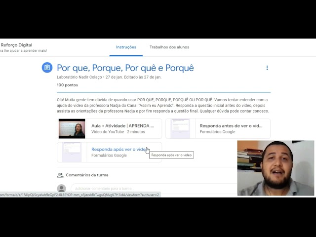 Vídeo vencedor Prêmio CpE na Sala de aula l Tema 2 l Projeto Reforço Digital EMTI Nadir Colaço