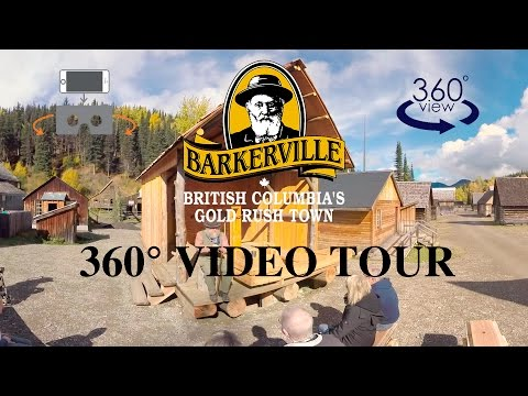 Barkerville Historic Town - 360 Degree Video Tour