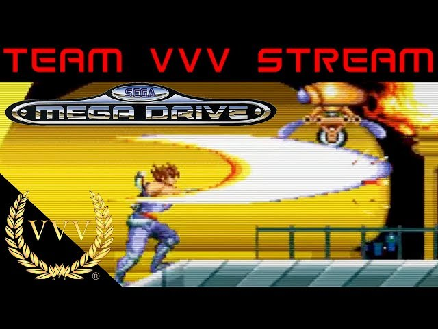 Sega Megadrive stream, Outrun, Super Hang On, Strider, Alien 3