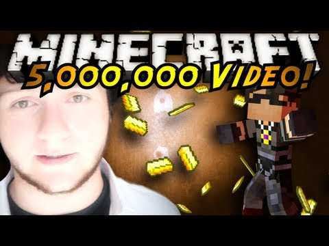 Minecraft: 5 MILLION SUBSCRIBERS! (IRL THANK YOU, OMEGLE VIDEO, Q & A, Announcement)