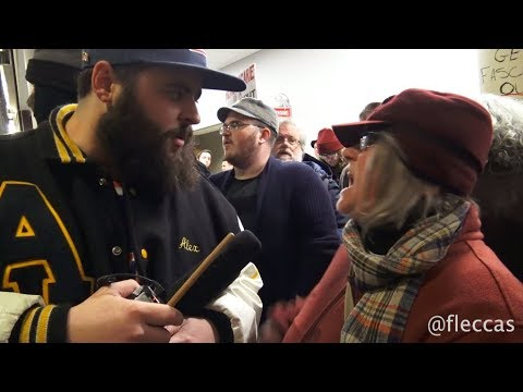 Michael Berry - Unhinged Protesters Try to Shut Down Ben Shapiro at Ohio State