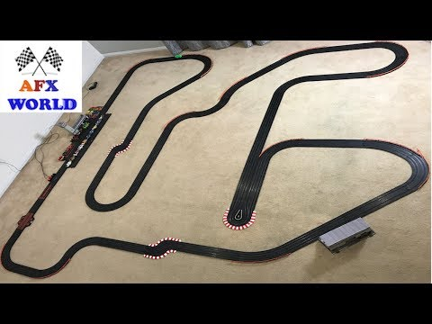 SLOT CAR RACING NEW TRACK – AFX SLOT CAR – HOT WHEELS – AFX WORLD – EPISODE TWELVE SE3