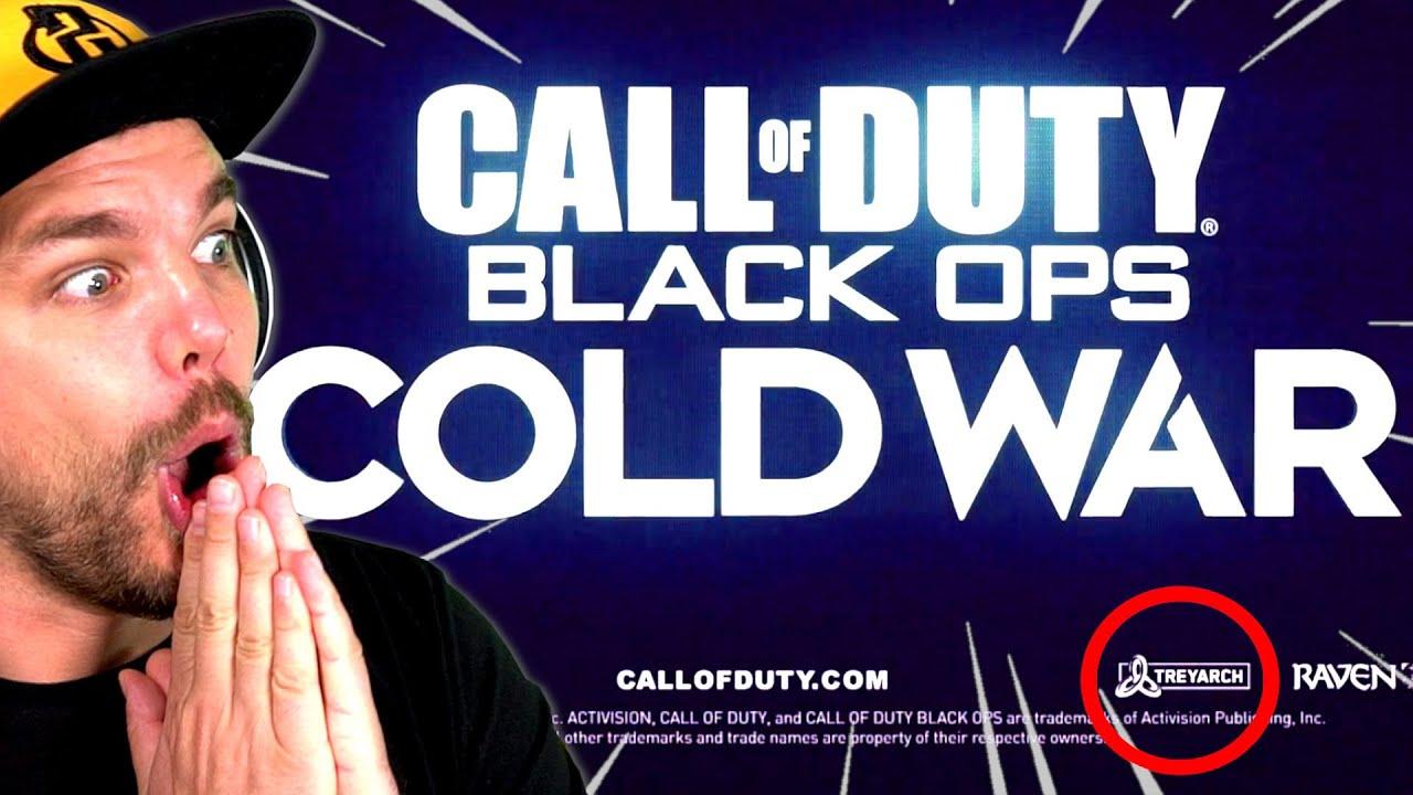 REACTION au REVEAL de BLACK OPS COLD WAR !! (Call of Duty 2020 Teaser Trailer)
