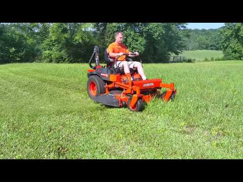 SCAG AND KUBOTA TEST 2