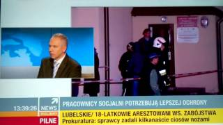 pracownicy socjalni (ops) - wywiad dla Polsat News