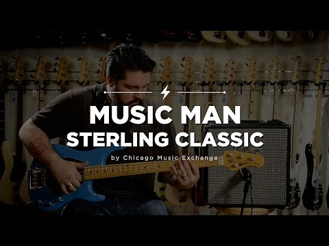Quick Riffs: Music Man Sterling Classic Diego Blue Bass Guitar