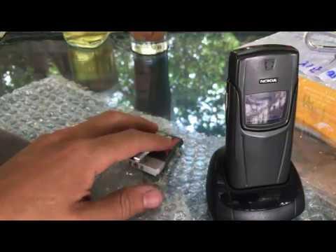 Made by Nokia 8910i *2003 nguyên bản 100% và còn đẹp 97% / cáp đỏ / Hàng USA.