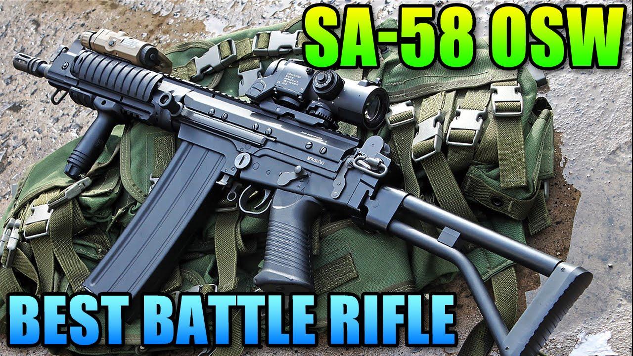 SA-58 OSW Best Battle Rifle!