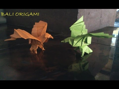 How to make Origami Bird Eagle (Origami Eagle)