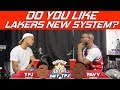 Do You Like Lakers New System? | Hoops N Brews