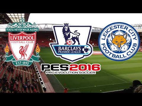 Liverpool X Leicester City - 26/12/2015 | Premier League [PES 2016]