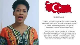 ISTIKLAL MARŞI'NI SÖYLEYEN AFRIKALI KIZ  || TURKISH NATIONAL ANTHEMN BY AN AFRICAN.mp3