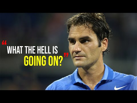 "The STRANGEST Match in Roger Federer's Career (Tennis ""WTF"" Upsets)"