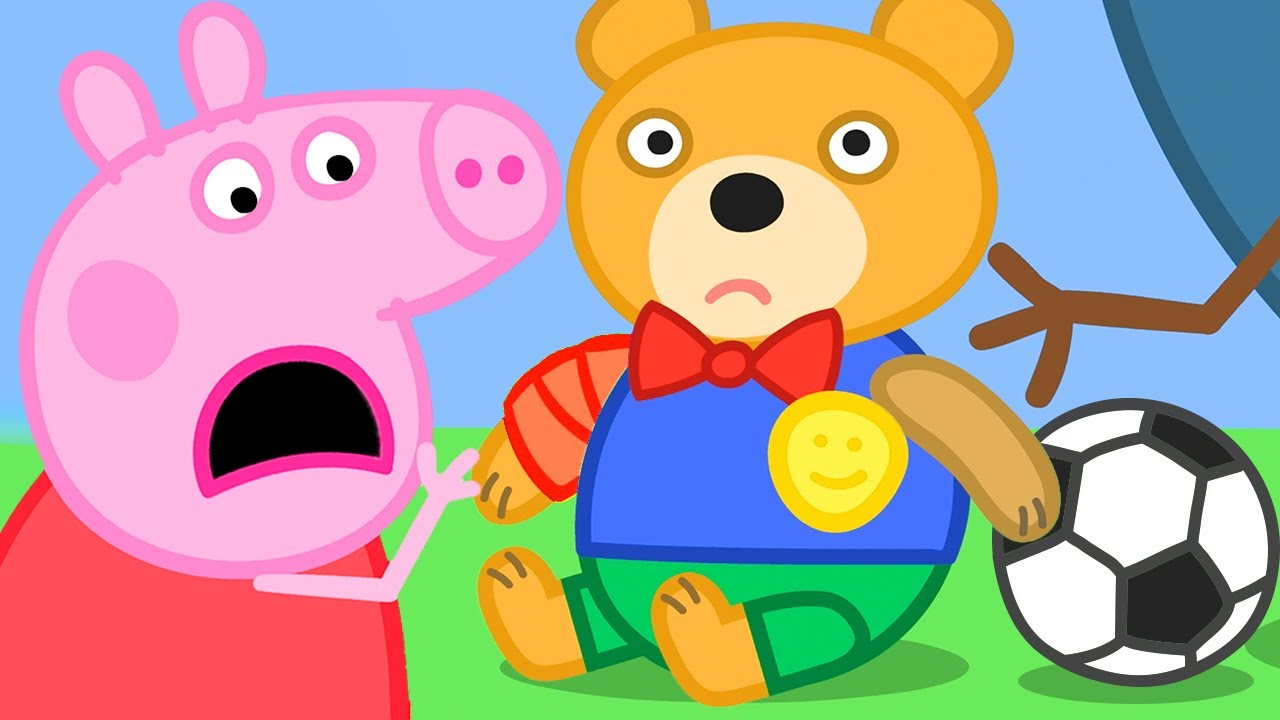 Peppa Pig Official Channel | George and the dinosaur room (clip)