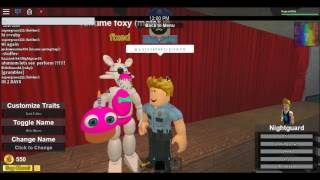 roblox fnaf dayshift (dayshift #1) FIXING MANGLE!