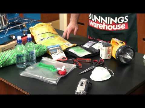 How To Prepare An Earthquake Kit - DIY At Bunnings