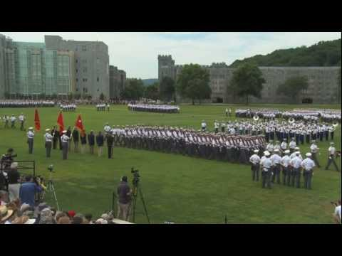 West Point Acceptance Day Parade 2011 The Pass in Review
