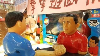 Obama the Arm Wrestler? Exploring Taipeis underground tech and toy scene