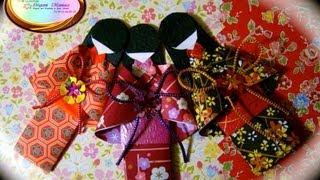Origami Maniacs 97: Japanese Dolls