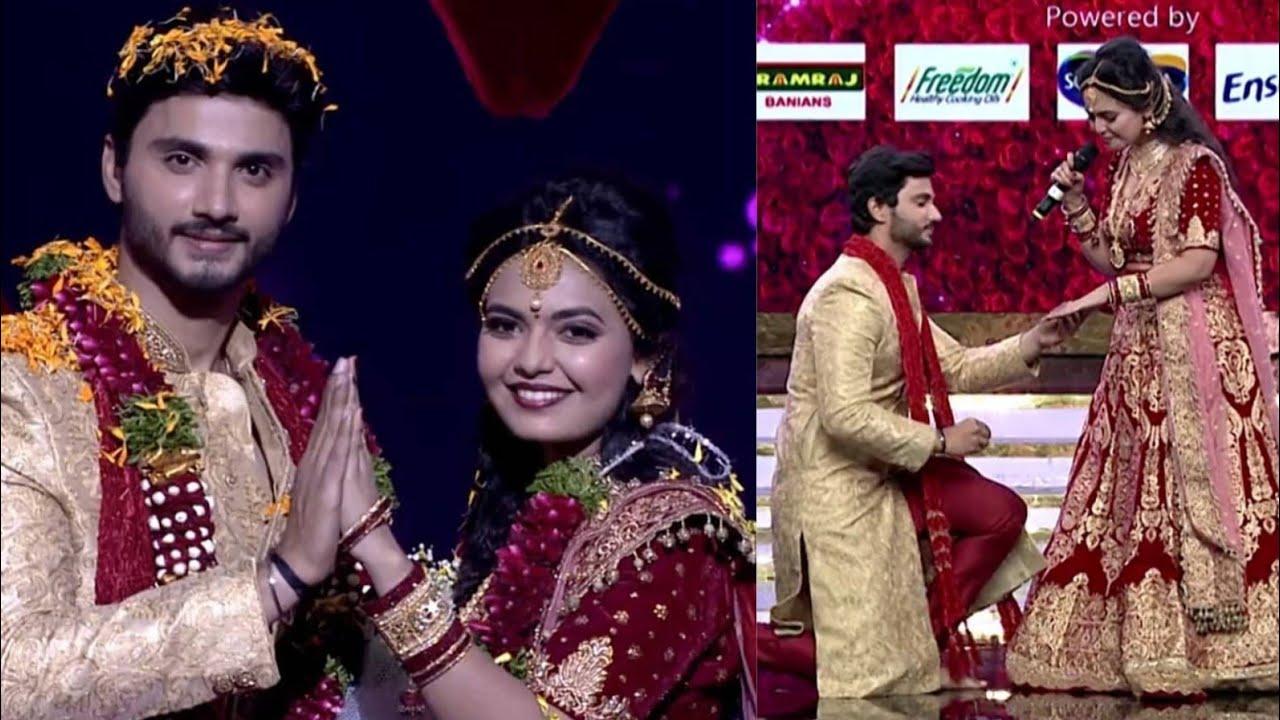 Ismart Jodi Reality Show Wedding Special Celebrations Lo Winner Is Best Jodi Rohith And Merina Youtube