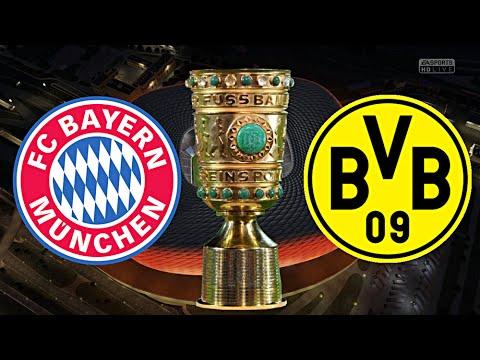 FC BAYERN MÜNCHEN gegen BORUSSIA DORTMUND (DFB POKAL HALBFINALE)