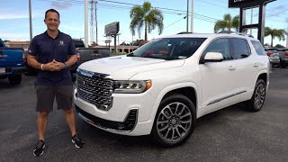 Is the NEW 2022 GMC Acadia Denali a better SUV than a Toyota Highlander?