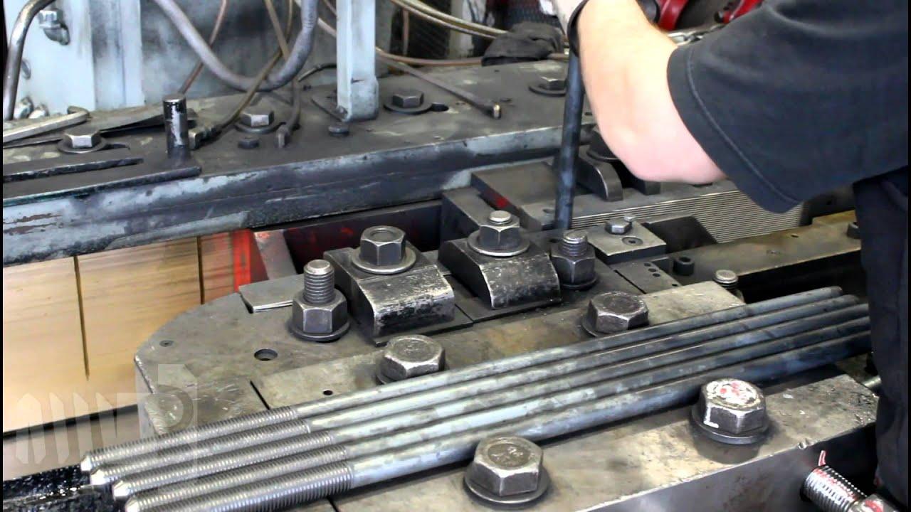 Making Of A Square Head Machine Bolt Youtube